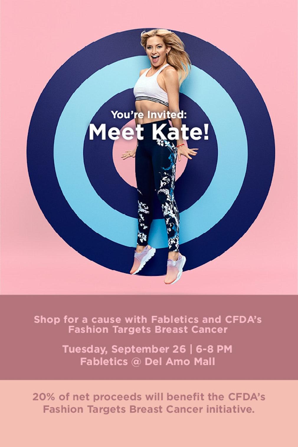 fafa4197a15d9d Fabletics & CFDA Launch FTBC Global Campaign with Kate Hudson | News ...