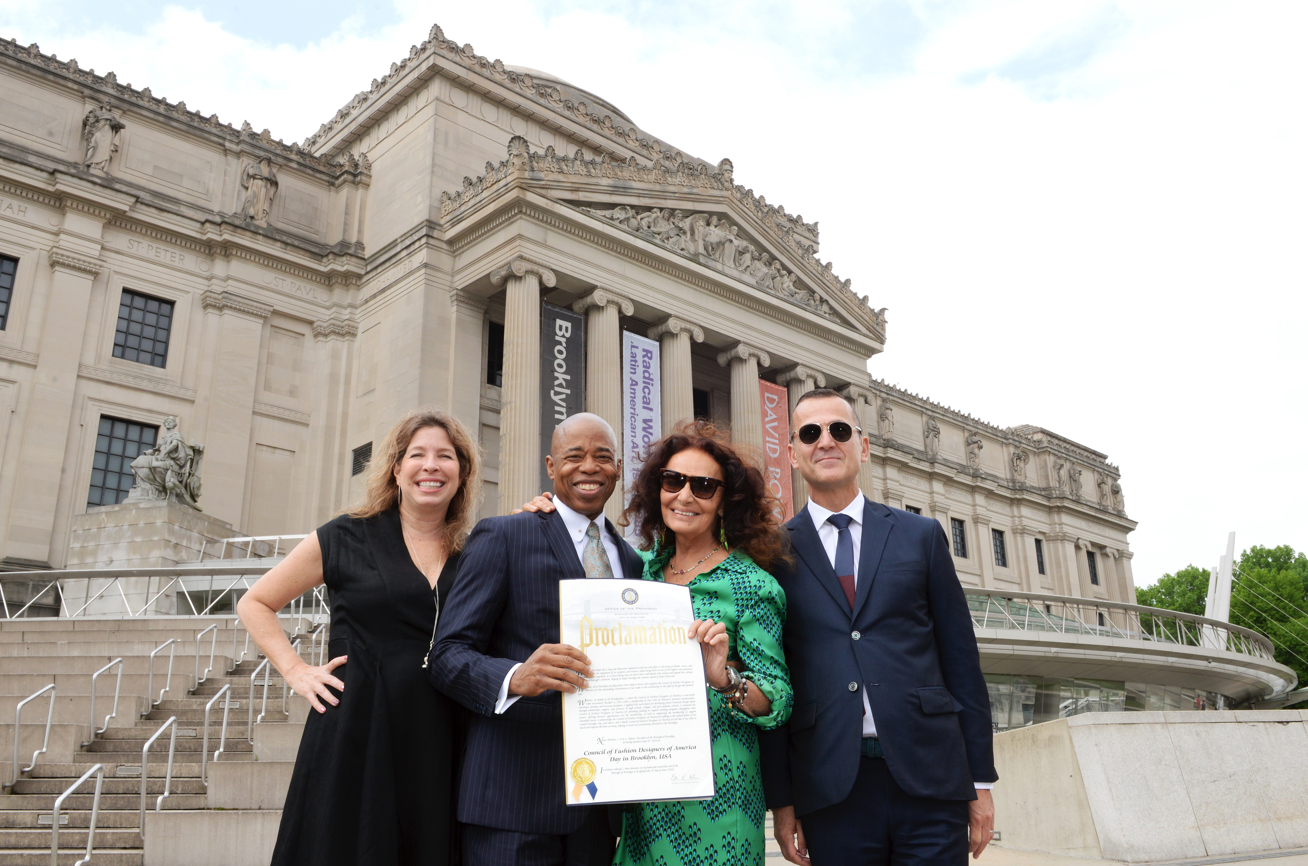 June 4th Is Council Of Fashion Designers Of America Day In Brooklyn News Cfda