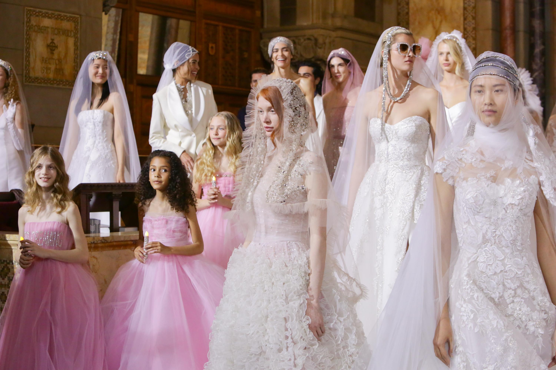 d9f101a0cb Reem Acra Spring 2020 Bridal