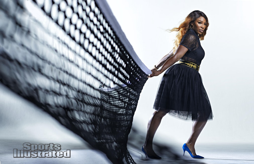 Serena Williams Graces Sports Illustrated's Fashionable 50