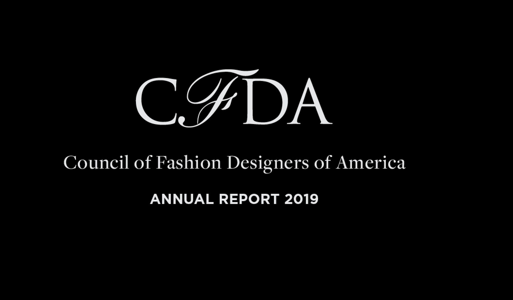 View The 2019 Cfda Annual Report News Cfda